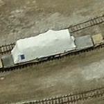 GE Gas Turbine on a rail car (Bing Maps)
