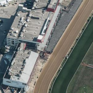 Pimlico Race Track (Birds Eye)