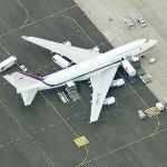 Boeing 747-4B5, HL7465 (Korean Air Force 001) (Birds Eye)