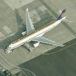 Airbus A330-322, CS-TMT (Belgium Air Force (Hi Fly) (Birds Eye)