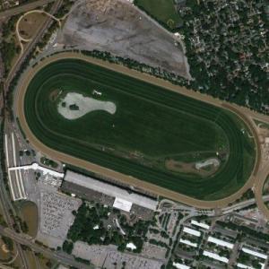 Belmont Racetrack (Bing Maps)
