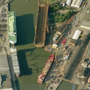 Lloyd shipyard (Birds Eye)