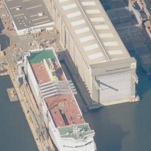 FSG shipyard (Birds Eye)