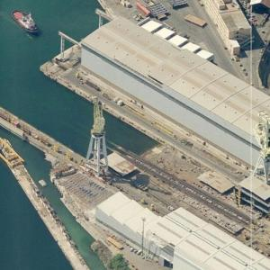 Fincantieri shipyard (Birds Eye)