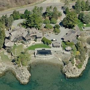 Dorrance Hamilton's House (former) (Birds Eye)