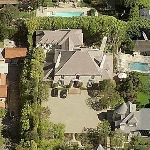 Carol and Frank Biondi Jr.'s house (Bing Maps)