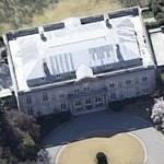 Residence of the Ambassador of the Kingdom of Belgium (Baker's Acres) (Birds Eye)