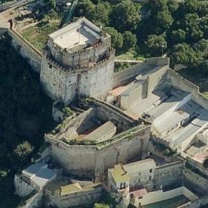 Moorish Castle, Gibraltar (Birds Eye)