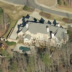 Michael Todd Chrisley's House (former) (Birds Eye)
