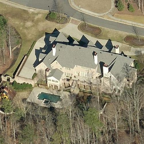 Michael Todd Chrisley's House (former) (Birds Eye)