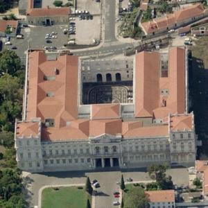 Ajuda National Palace (Birds Eye)