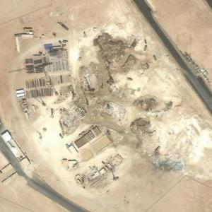Site of the Future Jeddah Tower (Set to be the world's tallest building) (Bing Maps)