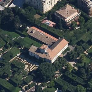 American Ambassador's Residence in Rome (Birds Eye)