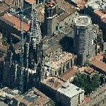 Barcelona Cathedral (Birds Eye)