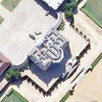 Villette castle (Bing Maps)