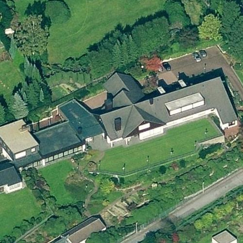 Karl Albrecht's House (deceased) In Essen, Germany (Bing Maps