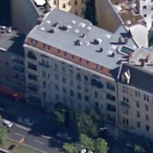 David Bowie and Iggy Pop's Apartments (former) (Bing Maps)