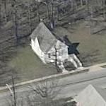 Seabrook Schoolhouse (Birds Eye)