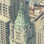 Woolworth Building $110M Penthouse (Birds Eye)