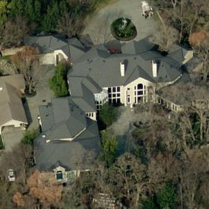 T. D. Jakes' House (Bing Maps)