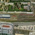 Poplar DLR Station (Birds Eye)