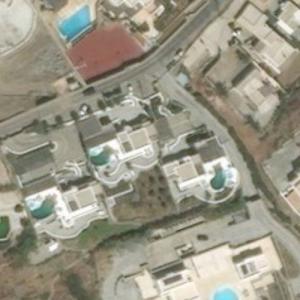The Kardashians Mykonos rental villas (Bing Maps)