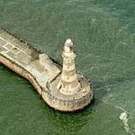 Roker Pier and Lighthouse (Birds Eye)