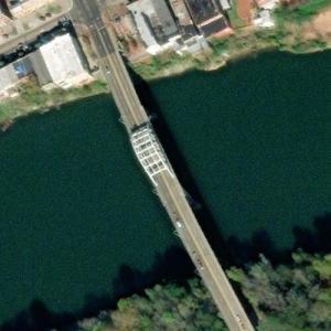 Edmund Pettus Bridge (1965 March on Selma) (Bing Maps)