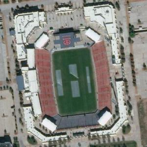 Toyota Stadium (Bing Maps)