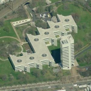 Johnson & Johnson headquarters (Birds Eye)