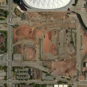 Mercedes-Benz Stadium (Bing Maps)