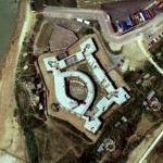 Palmerston Fort - Landguard Fort (Bing Maps)
