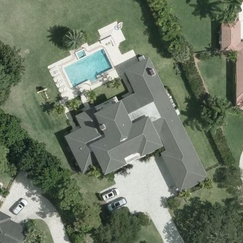 Serena Williams' House (Bing Maps)