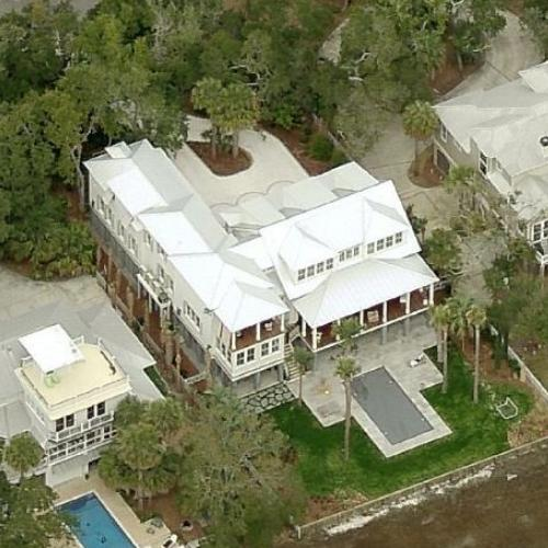 Photo: house/residence of the talented 14 million earning Mount Pleasant, South Carolina-resident