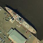 Royal Yacht Britannia (Bing Maps)