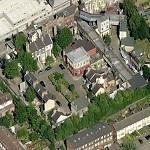Albert Square (EastEnders Location) in Borehamwood, United Kingdom on