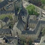 Notre-Dame Cathedral of Luxembourg (Birds Eye)