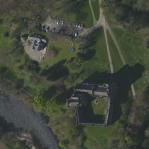 Doune Castle (Winterfell in Game of Thrones) (Bing Maps)