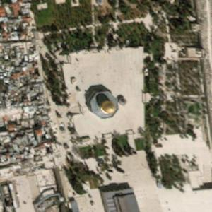 Dome of the Rock / Temple Mount (Bing Maps)