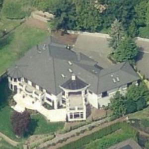 Russell Wilson & Ciara's House (Birds Eye)