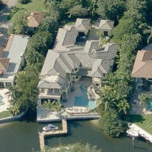 Dustin Johnson's House (Birds Eye)