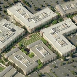 Facebook headquarters (Bing Maps)