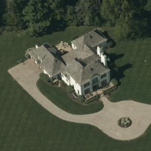 Dallas Clark's House (Former) (Birds Eye)