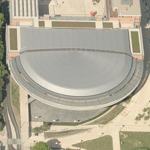 'Palais des congrès de Lyon' by Renzo Piano (Birds Eye)