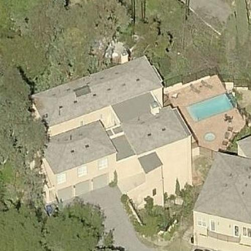 Ariana Grande's House (leased) (Birds Eye)