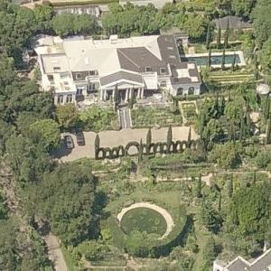 Gwyneth Paltrow's House (Birds Eye)