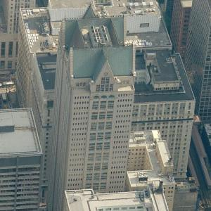 '190 South LaSalle Street' by Philip Johnson (Birds Eye)