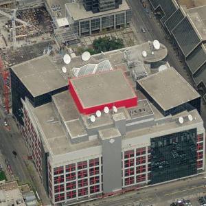 'Canadian Broadcasting Centre' by Philip Johnson (Birds Eye)