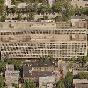 'University Apartments' by I.M. Pei (Birds Eye)