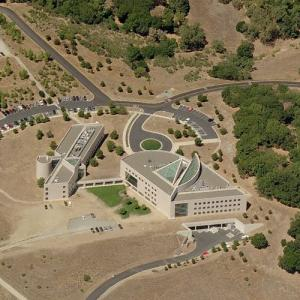 'Buck Institute for Research on Aging' by I.M. Pei (Birds Eye)